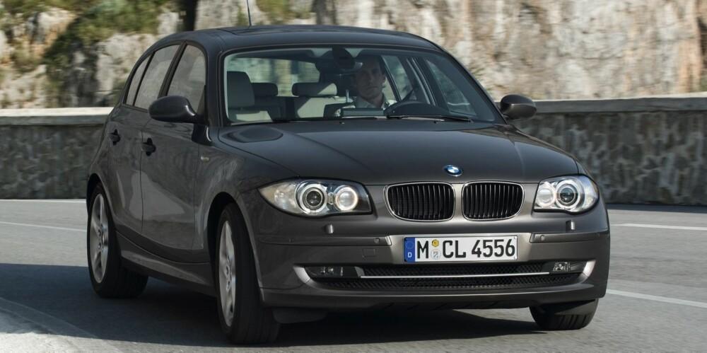 BMW: 1-serie har god kvalitet, om ikke helt i Auris-klasse. Foto: BMW