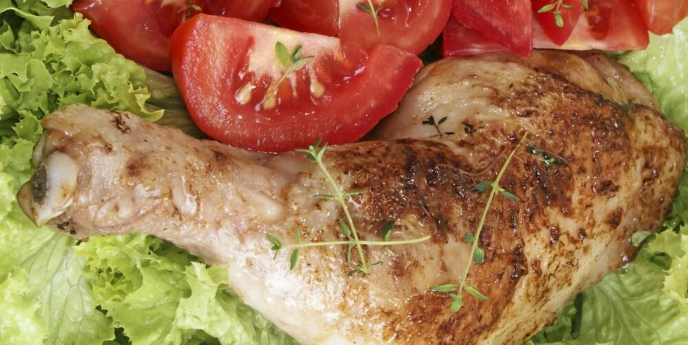Et saftig kyllinglår smaker godt - også i matboksen.