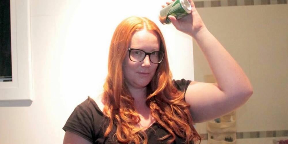 KJENDISTIPS: Når selveste Catherine Zeta Jones vasker håret med øl, ja, da må det vel funke? Eller?