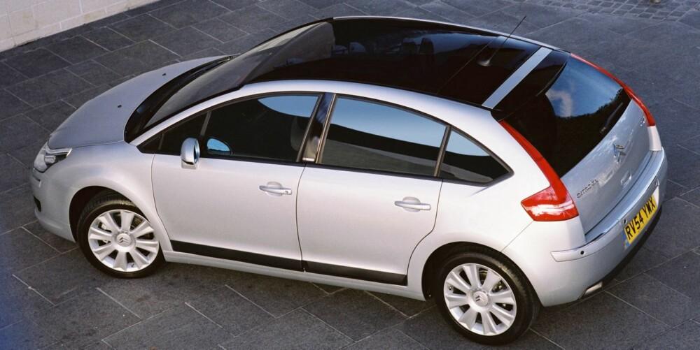 STORT NOK: Klarer du deg med bagasjeplassen i en kompaktklassebil, kan Citroën C4 være et rimelig alternativ. FOTO: Citroën