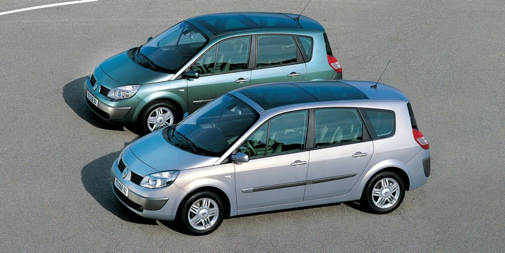 PLASS FOR ALLE: Renault Grand Scenic er en funksjonell sjuseter med gode familiebilkvaliteter. FOTO: Renault