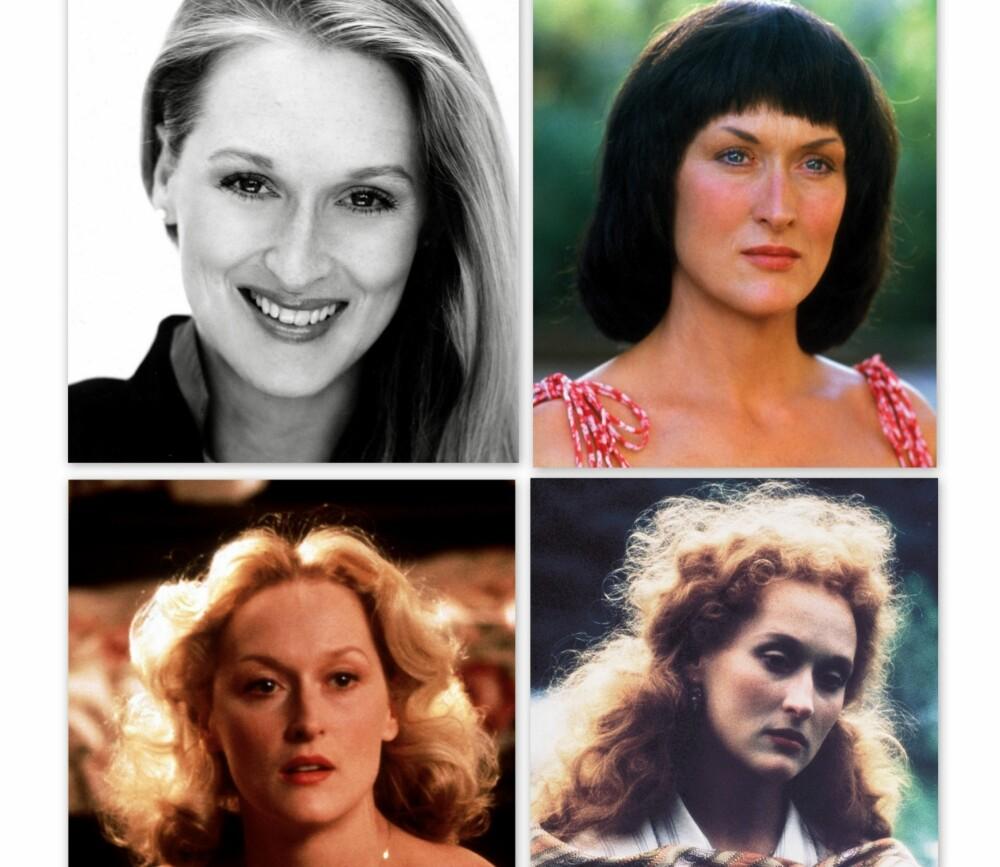 FORANDRING FRYDER: Meryl Streep har hatt mange forskjellige frisyrer gjennom sine 64 år, men det er først nå hun har gått helt kort.