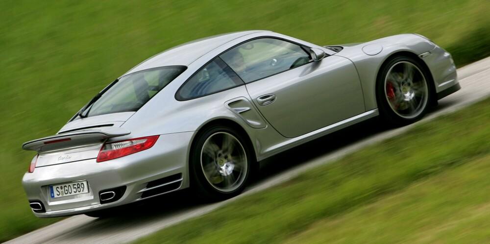 911-ØYEBLIKKET: Porsche 911 Turbo 997. FOTO: Egil Nordlien, HM Foto