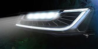 Audi A8 facelift 2013