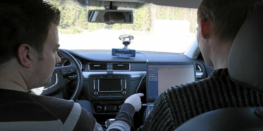 ET VIKTIG ELEMENT: Å kartlegge bilenes støynivå viser seg å være viktigere enn først antatt. Lavfrekvent støy gjør deg nemlig mer trøtt.