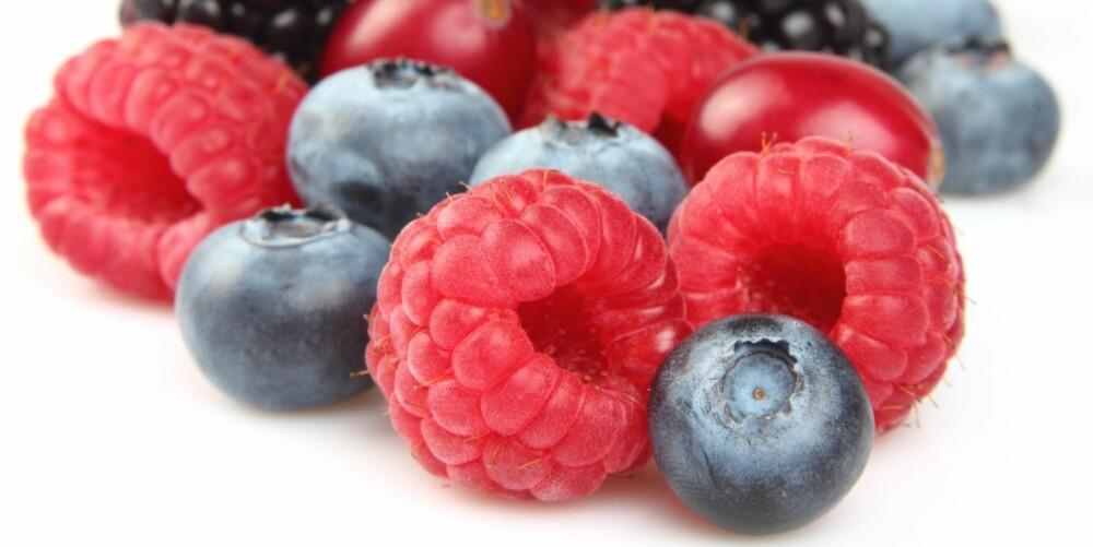 Bær er rike på antioksidanter, vitaminer og mineraler.