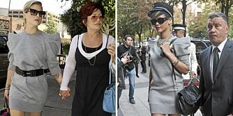 Kelly Osbourne og Rihanna i samme Marc Jacobs-kjole.