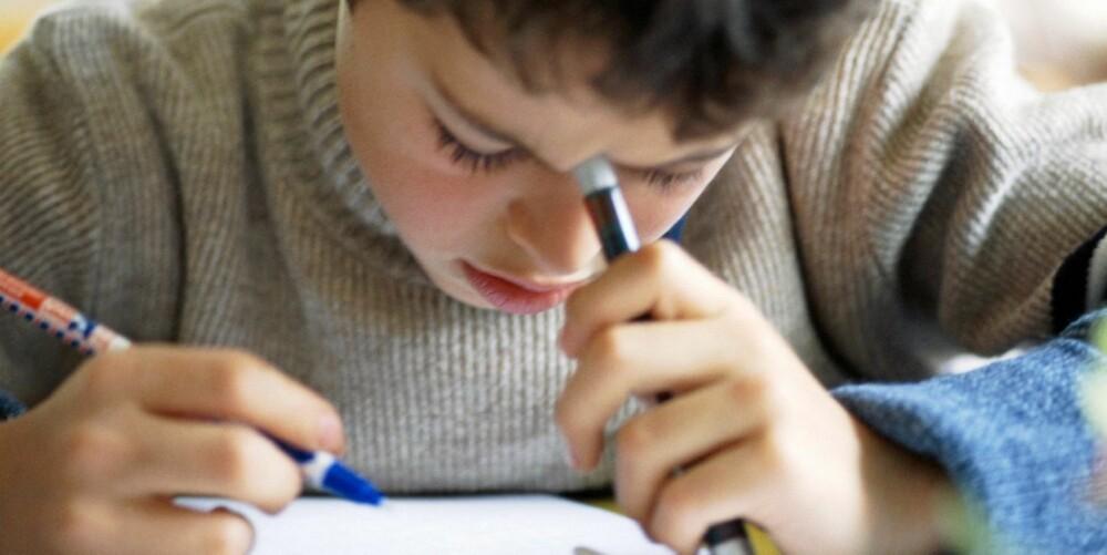 Langt flere gutter enn jenter får diagnosen ADHD.
