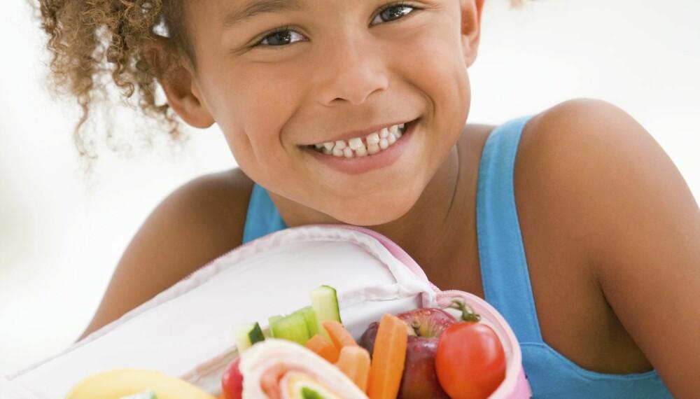 Kostholdet kan påvirke barns atferd.