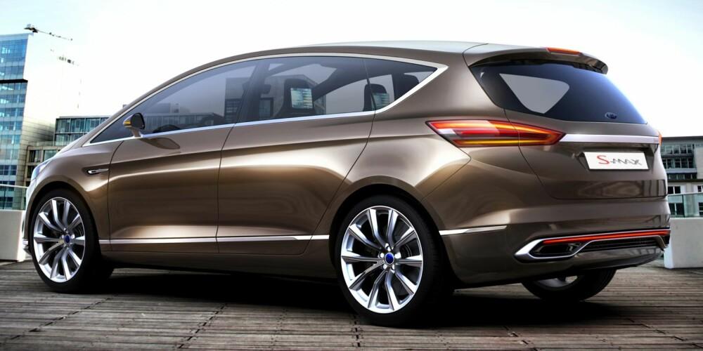 NY MOTOR: Nye S-Max kommer med en helt ny 1,5-liters EcoBoost bensinmotor med turbo. FOTO: Ford