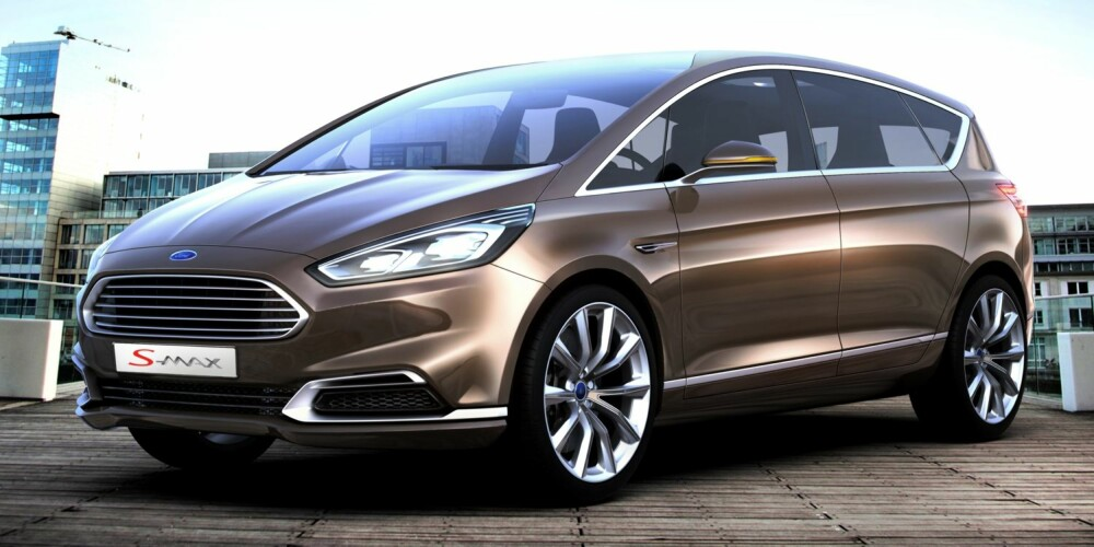 MPV: Ford S-Max har i flere år vært blant Norges mest populære flerbruksbiler. FOTO: Ford