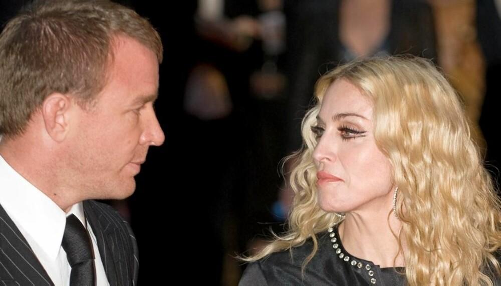 BITTER STRID: Det kommer stadig fram nytt grums i kjølvannet av skilsmissen mellom Guy Ritchie og Madonna.