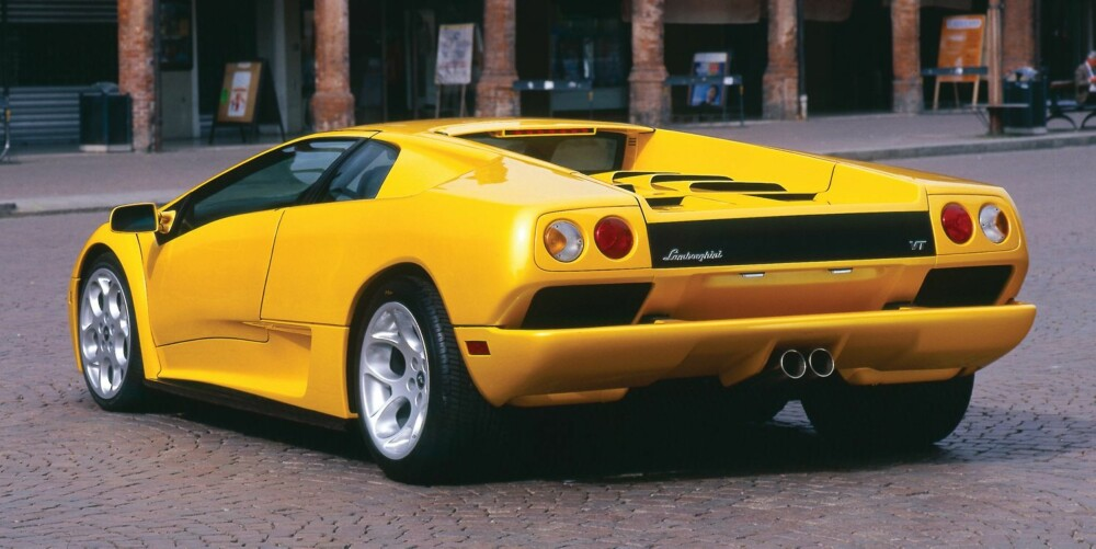 Lamborghini Diablo. FOTO: Lamborghini