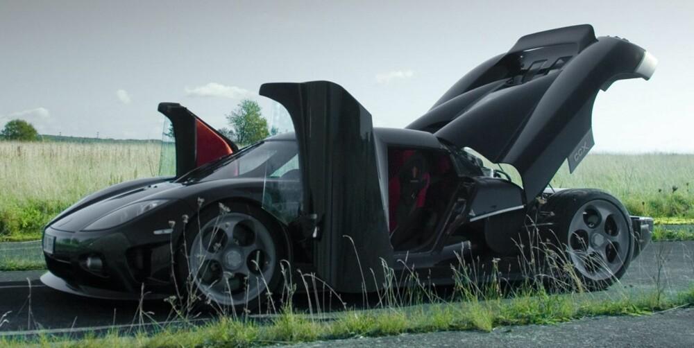 CCX: Koenigsegg CCX. FOTO: Koenigsegg
