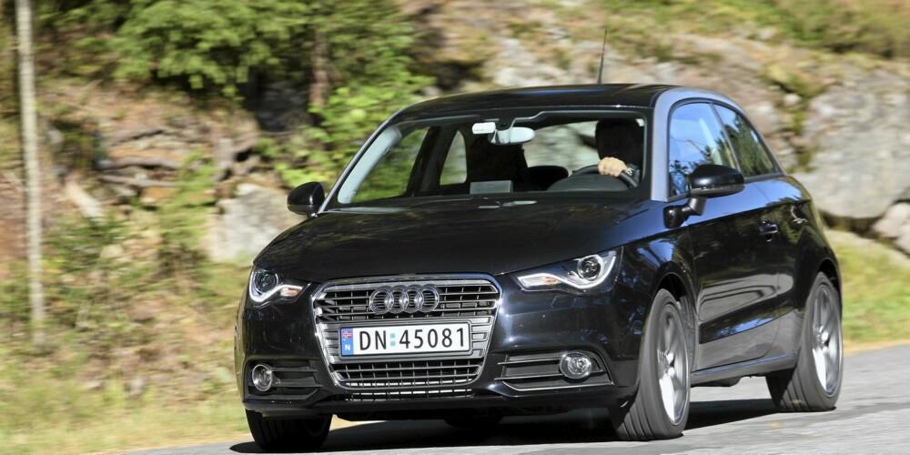 TØFF? Meningene om designen er delte, men i våre øyne har Audi gjort en veldig god jobb.