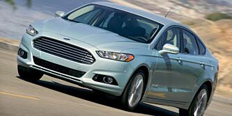 USA: Ford Fusion hybrid. FOTO: Ford