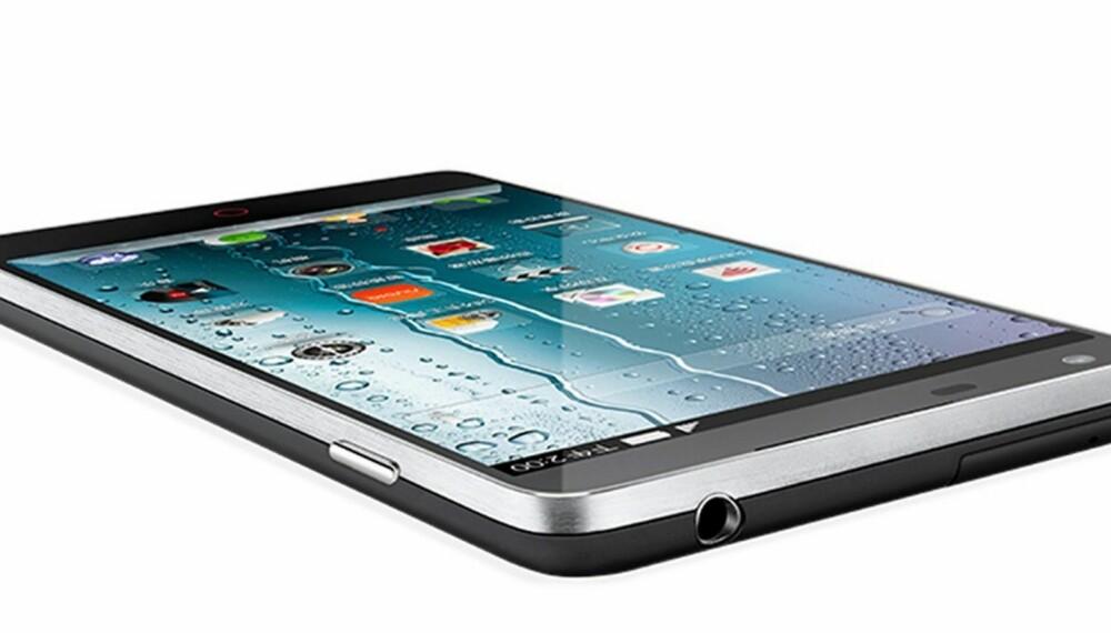 PEN: ZTE Nubia Z5 ser bra ut, bedre enn for eksempel Samsung S4. Likevel er den ikke like tynn og stilren som Huawei P6.