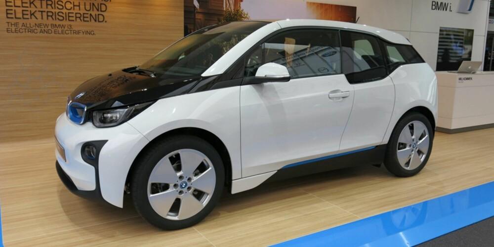ALLEREDE POPULÆR: BMW i3 kommer i november, men allerede nå har mange nordmenn bestilt bilen. FOTO: Martin Jansen