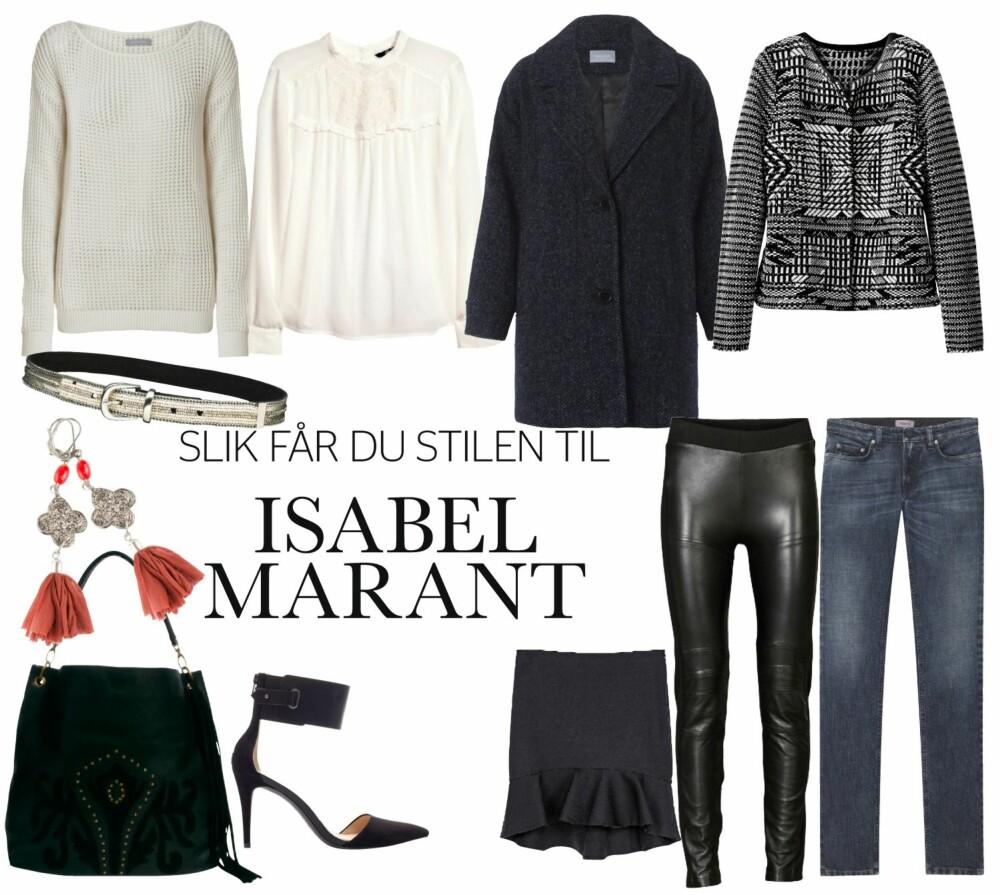 STILEN TIL MARANT: Det er mange som har latt seg inspirere av Marant.