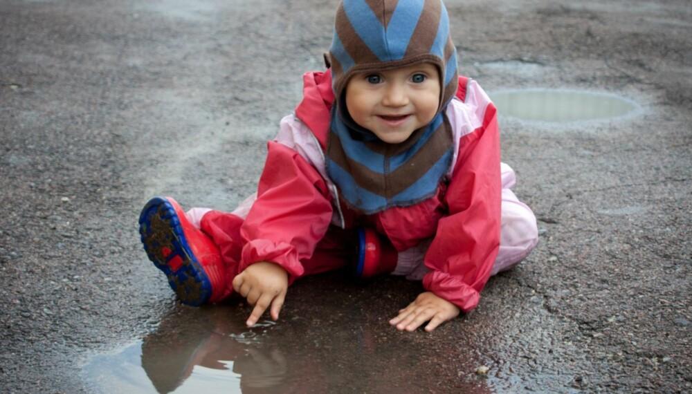 LAG PÅ LAG: Kle barnet lagvis, med ull innerst. Ulla absorberer og transporterer fuktighet.