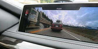360: Surroundview med 360-graders visning er ekstrautstyr.