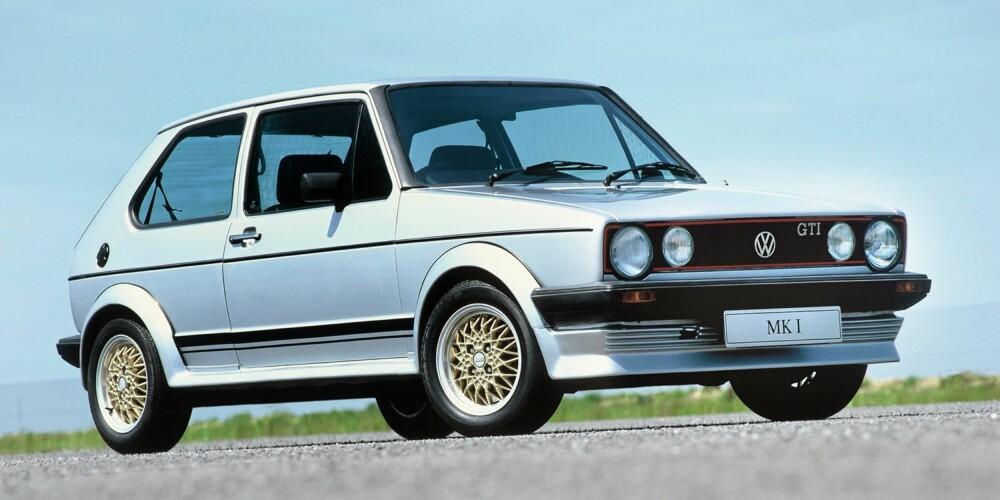 LEGENDE: Første generasjon Golf GTI er legendarisk, og det vises på prisene. Det som i utgangspunktet var en relativt billig morobil, koster nå opp mot 150 000 kroner.