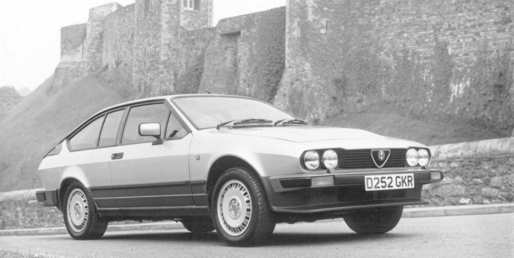 ITALIENSK TEMPERAMENT: Alfa Romeo GTV6 har en motorlyd som kan omvende selv de mest inbitte bilhaterne.