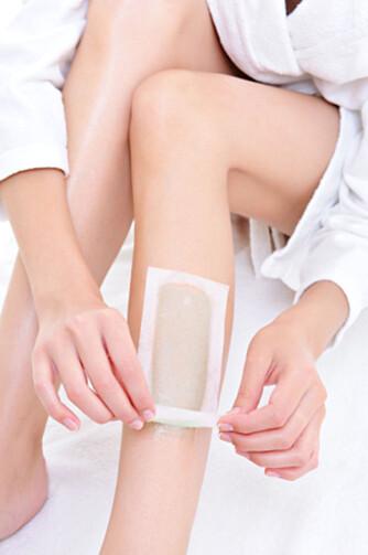 VOKS: Holder beina hårfrie i en måned.