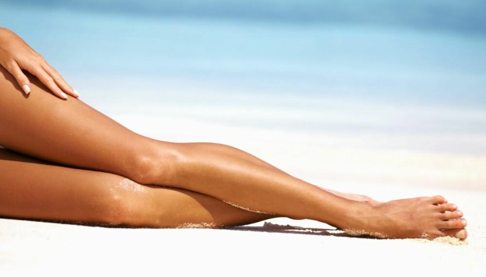 HÅRFRI: Slipp å tenke på å barbere leggene i sommer.