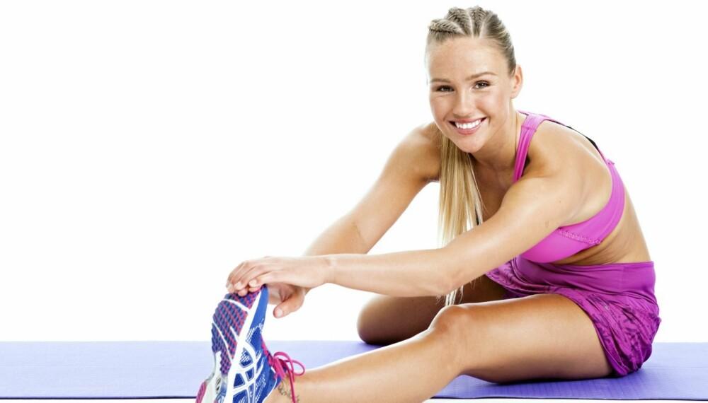 VARIASJON: - Å være god i sprint krever en helt spesiell treningsform. Jeg skiller mellom tunge og lette økter på alt fra 1 til 2,5 timer, og blander styrke, spenst, sprint og litt kondisjon, sier hekkeløper og blogger Rachel Nordtømme.