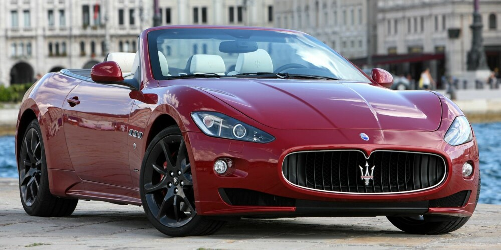 RIVALEN: Maserati GranCabrio.
