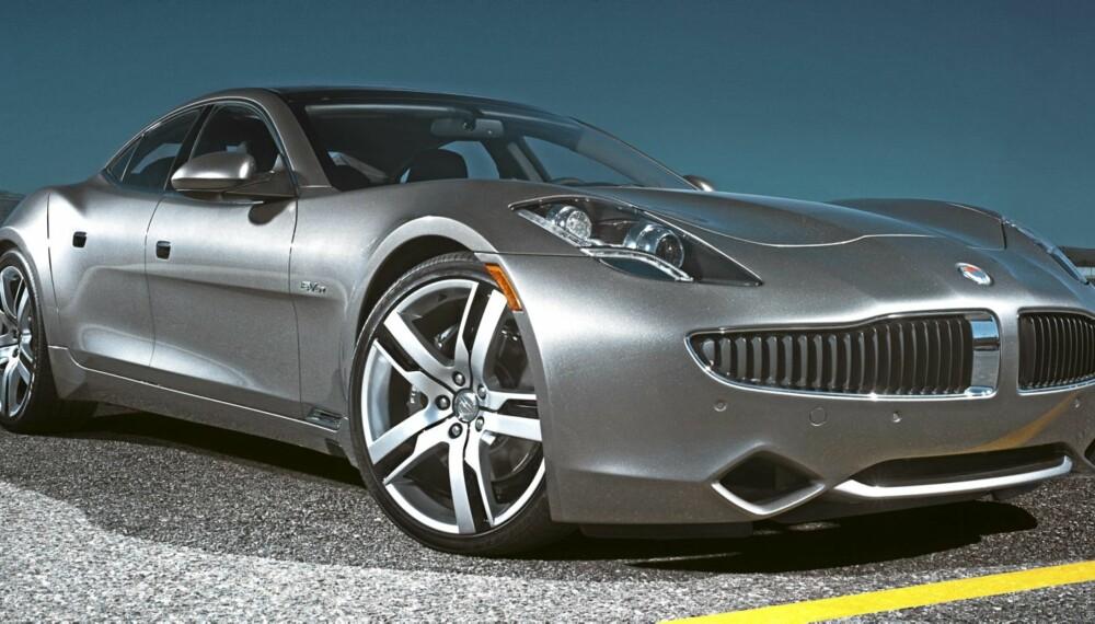 LEKKER: Akkurat som Opel Ampera, er Karma en hybrid med ekstra rekkevidde. Karma er dog langt mer luksuriøs.