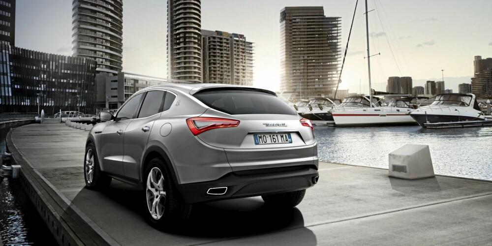 USIKKER LANSERING: Vi kan med ganske stor sikkerhet fastslå at det vil komme en sports-SUV fra Maserati. Akkurat når er det imidlertid vanskelig å spå.