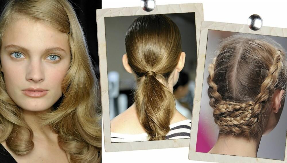 HÅRFRISYRER: Disse frisyrene fikser du enkelt selv!