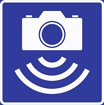 PUNKT-ATK: Dette er skiltet for de vanligste fotoboksene, punkt-ATK.