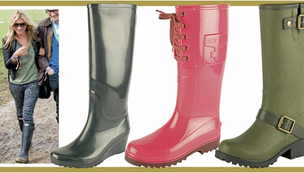 STØVLER: Høsten er her, og vi har tatt konsekvensene av det og funnet frem til høstens hotteste støvler.