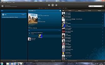 DRA OG SLIPP: Søk og dra resultetet inn i spillelisten din. Nye Sonos gjør det lettere å bygge opp spillelister med innhold fra mange kilder.