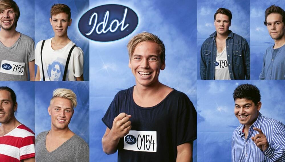 Hvem er din favoritt foran fredagens Idol-semifinale?
