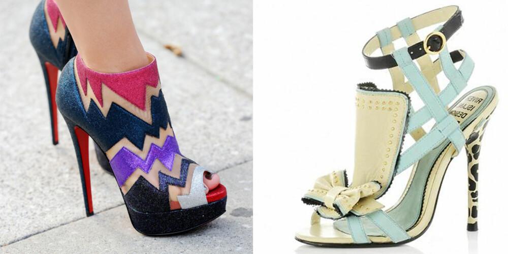RIKTIG SKODD: Det er aldri feil med en fantastisk sko. Er det rart at vi er avhengige?