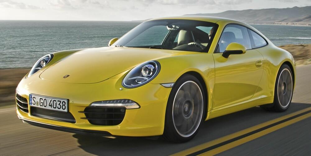 IKON: Den nyeste og beste versjonen av Porsche 911 noensinne.