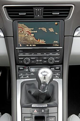 MORO: Nye Porsche 911 får manuell girkasse med syv trinn.