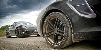 Nye Porsche 911 på test i Sør-Afrika.