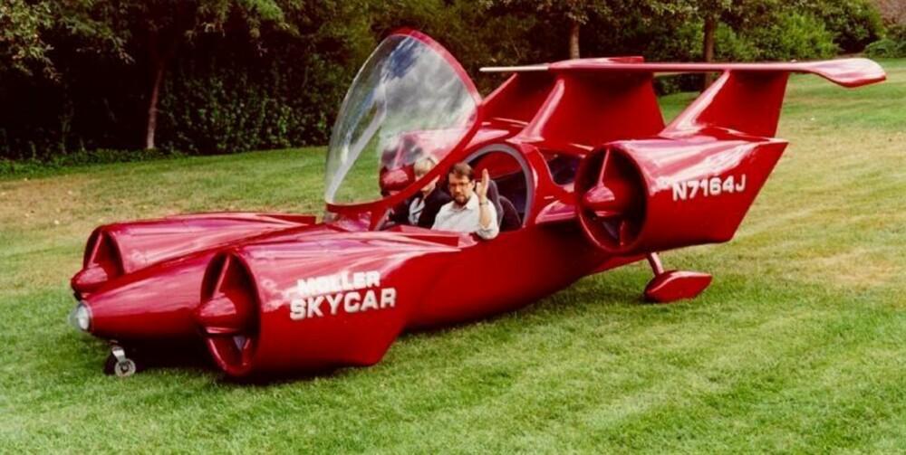 I SKYENE: Moller Skycar er blant prosjektene med flyvende biler som lever.
