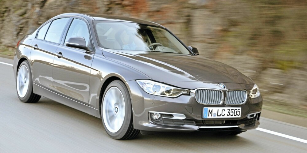 FRISK DIESEL: 320d er frisk og fartsglad, og det tror vi den fortsatt vil være med 20 hk færre. Foto: BMW