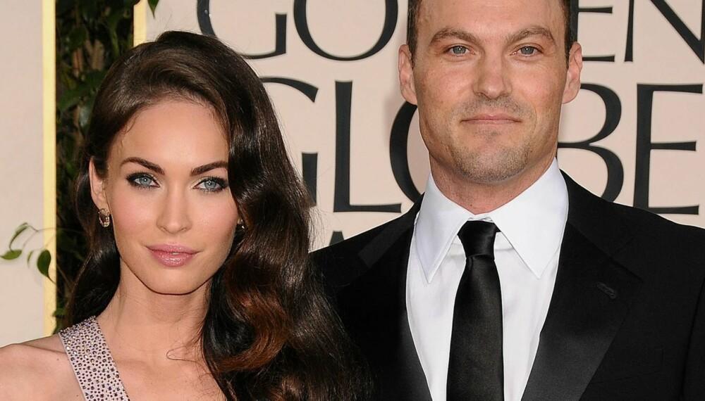 BLIR FORELDRE: Megan Fox og ektemannen Brian Austin Green venter sitt første barn.