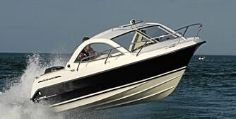 STABIL: 555-modellen er praktisk og har masse sjarm, med et stabilt og behagelig skrog.