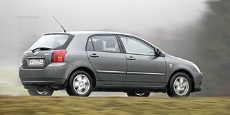 KOMPAKTBIL: Toyota Corolla var blant topp tre på norske salgslister år etter år.