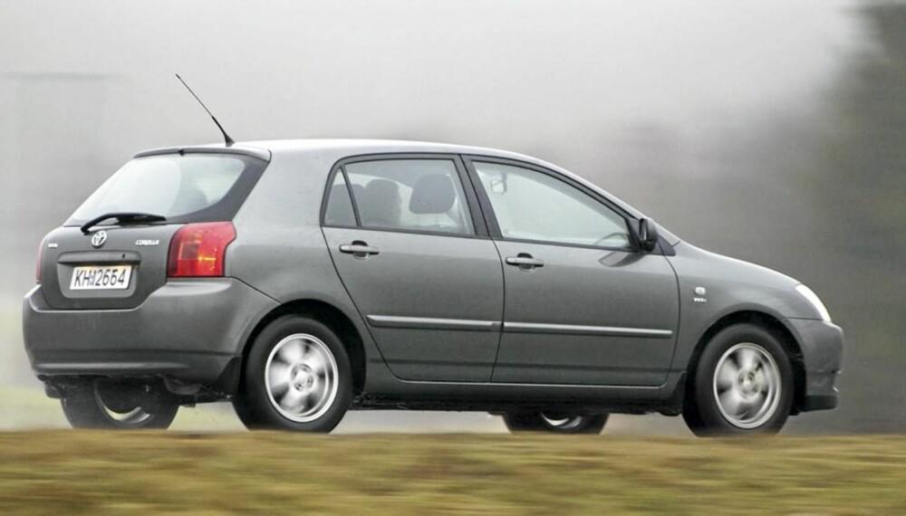 GOD BRUKTBIL: Siste versjon av Toyota Corolla er et trygt valg.