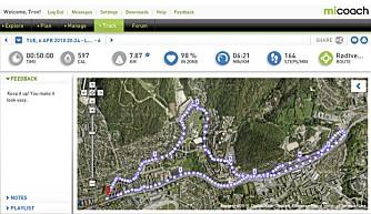 INGEN GPS: Rutene dine kan tegnes opp manuelt. Import av GPS-sporlogg hadde vært mye enklere.