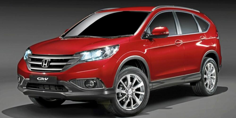 SUV: Honda CR-V.